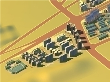 urban design 019 3d model 3ds max 91105