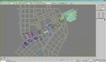 urban design 019 3d model 3ds max 91109