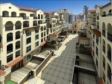 urban spaces 040 3d model max 3dm 91570