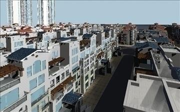 urban spaces 040 3d model max 3dm 91571