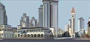 urban spaces 040 3d model max 3dm 91572