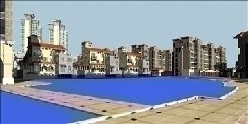 urban spaces 040 3d model max 3dm 91573