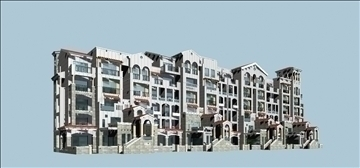 urban spaces 040 3d model max 3dm 91575