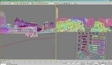 urban spaces 040 3d model max 3dm 91577