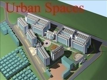 urbani prostori 047 3d model 3ds max 91636