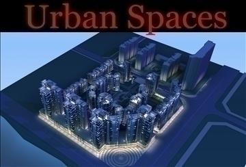 urban spaces 049 3d model 3ds max 91650