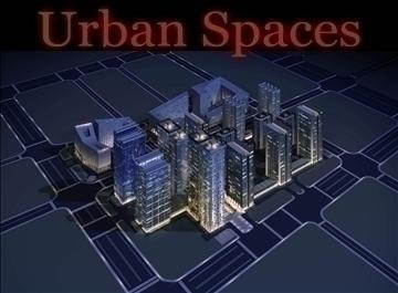 urbani prostori 051 3d model 3ds max 91654
