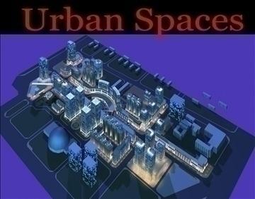 urbani prostori 056 3d model 3ds max 91683
