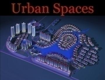 urbani prostori 058 3d model 3ds max 91694