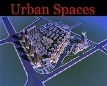 urban spaces 059 3d model 3ds max 91699