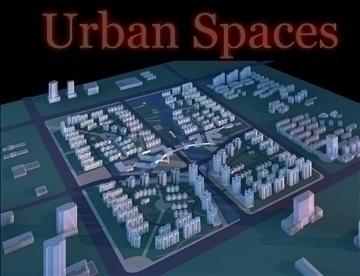 urban spaces 062 3d model 3ds max 91721