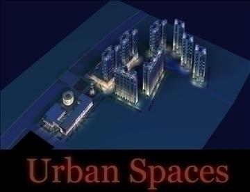 urban spaces 063 3d model 3ds max 91727