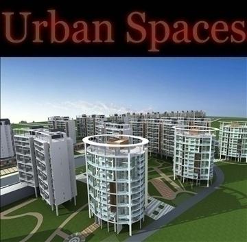 urban spaces 065 3d model 3ds max 91864