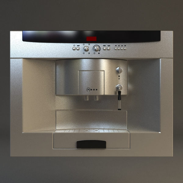 espresso machine 3d model 3ds max fbx 115018