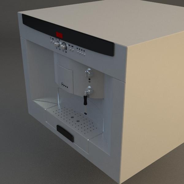 эспрессо машин 3d загвар 3ds max fbx 115020