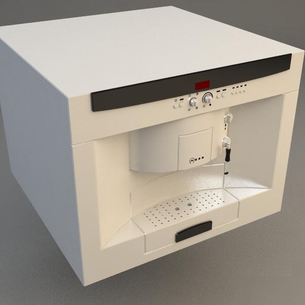 эспрессо машин 3d загвар 3ds max fbx 115021