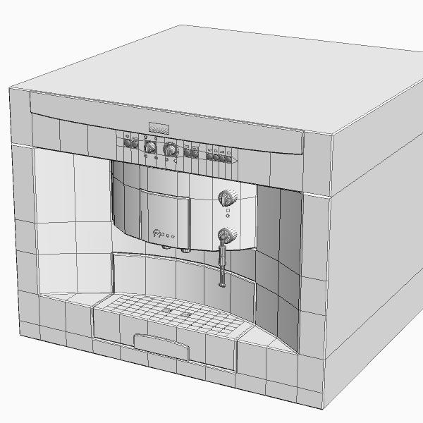 эспрессо машин 3d загвар 3ds max fbx 115022