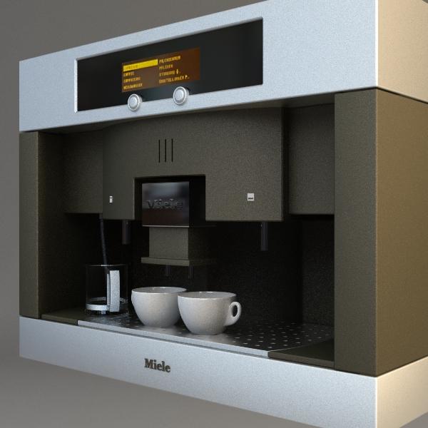 peiriant coffi mân model 3d 3ds max fbx texture 115015