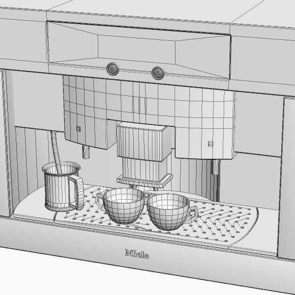 peiriant coffi mân model 3d 3ds max fbx texture 115017