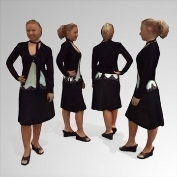 10 3d people models – business 3d model 3ds max lwo 89245