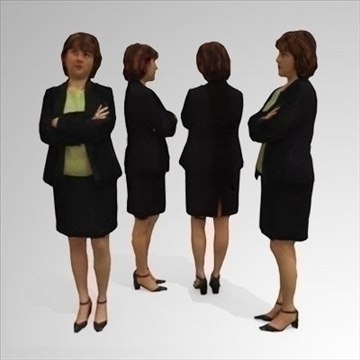 10 3d people models – business 3d model 3ds max lwo 89253