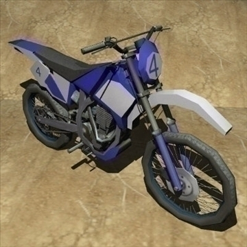 3 in 1 motorbike pack 3d model 3ds 97482
