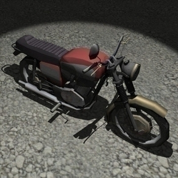 3 in 1 motorbike pack 3d model 3ds 97484