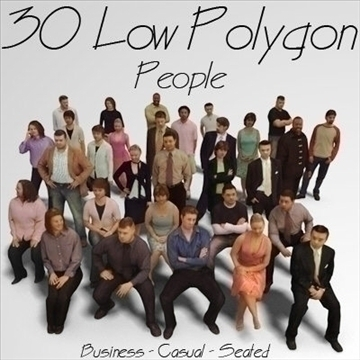 30 3d people models 3d model 3ds max lwo 109609