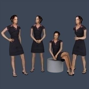 32 niski poligon 3d modeli ljudi 3d model 3ds max 89243