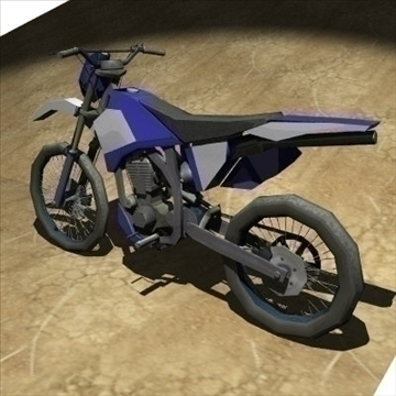 4 in 1 motorbike pack 3d model 3ds 97582