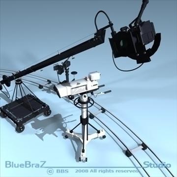 apraides kameru kolekcija 3d modelis 3ds dxf c4d obj 89369