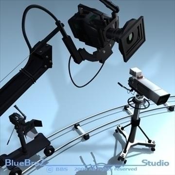 apraides kameru kolekcija 3d modelis 3ds dxf c4d obj 89370