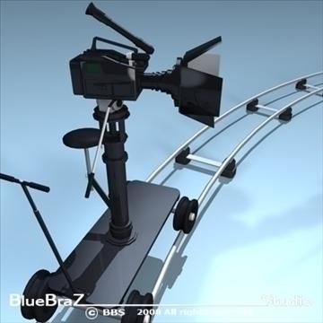 apraides kameru kolekcija 3d modelis 3ds dxf c4d obj 89371