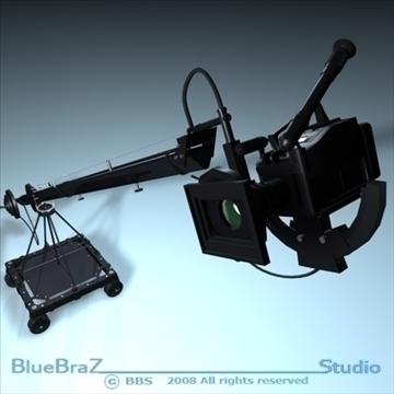 apraides kameru kolekcija 3d modelis 3ds dxf c4d obj 89372