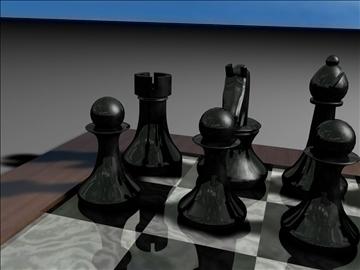 chess set 3d model 3ds c4d jpeg jpg 111566