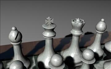 chess set 3d model 3ds c4d jpeg jpg 111567