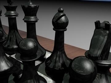 chess set 3d model 3ds c4d jpeg jpg 111569