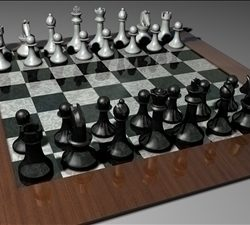 Chess Set model ( 62.74KB jpg by Jamiem123q )