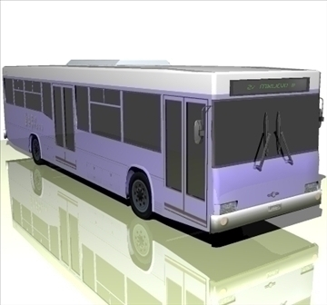 city bus 3d model 3ds 103094