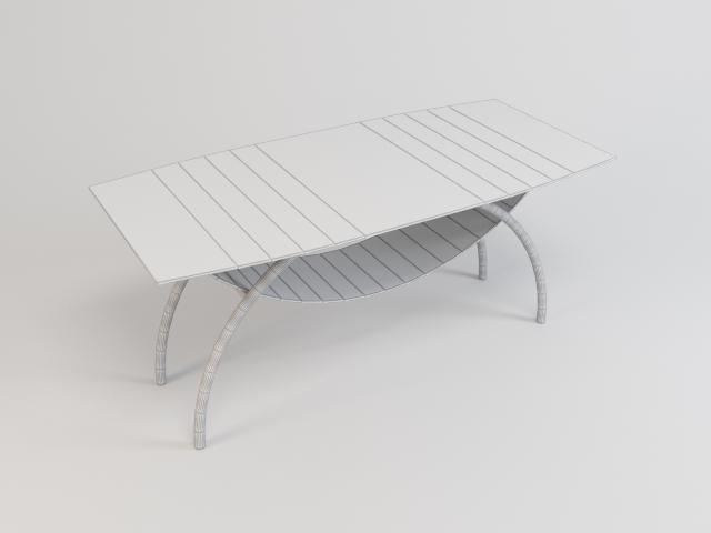 collection of glass tables 3d model 3ds max fbx obj 118434