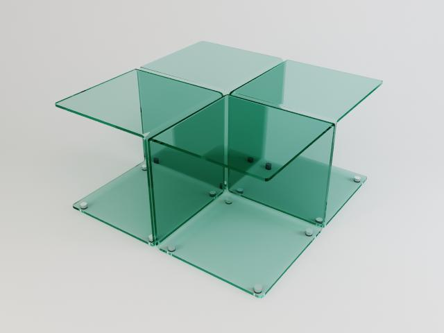 collection of glass tables 3d model 3ds max fbx obj 118435