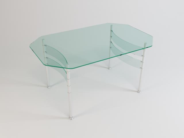 collection of glass tables 3d model 3ds max fbx obj 118438