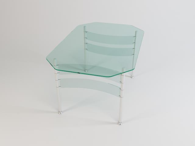 collection of glass tables 3d model 3ds max fbx obj 118439