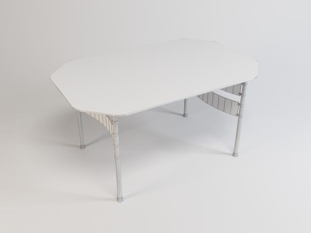 collection of glass tables 3d model 3ds max fbx obj 118440