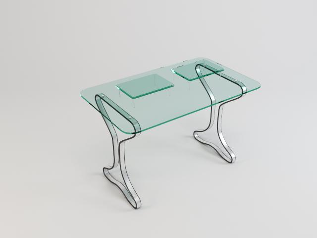 collection of glass tables 3d model 3ds max fbx obj 118445