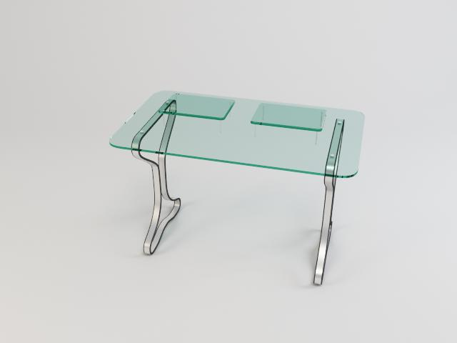 collection of glass tables 3d model 3ds max fbx obj 118446