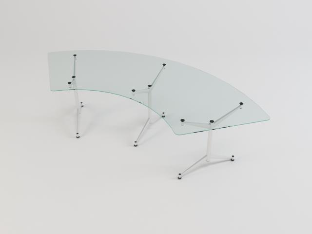 kolekcija staklenih stolova 3d model 3ds max fbx obj 118449