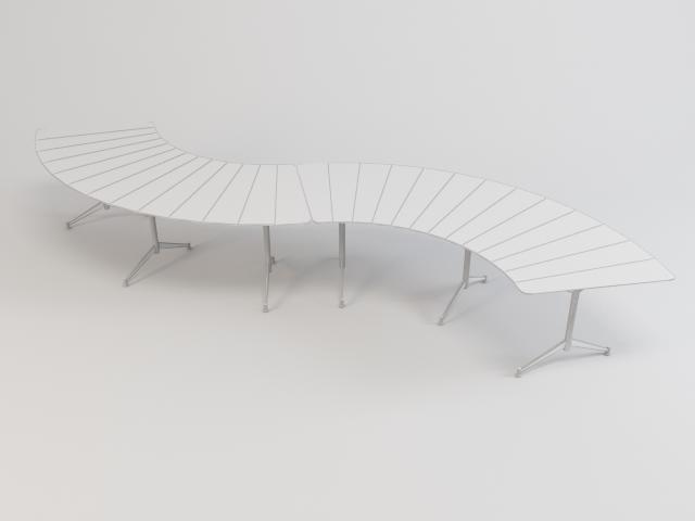 kolekcija staklenih stolova 3d model 3ds max fbx obj 118450