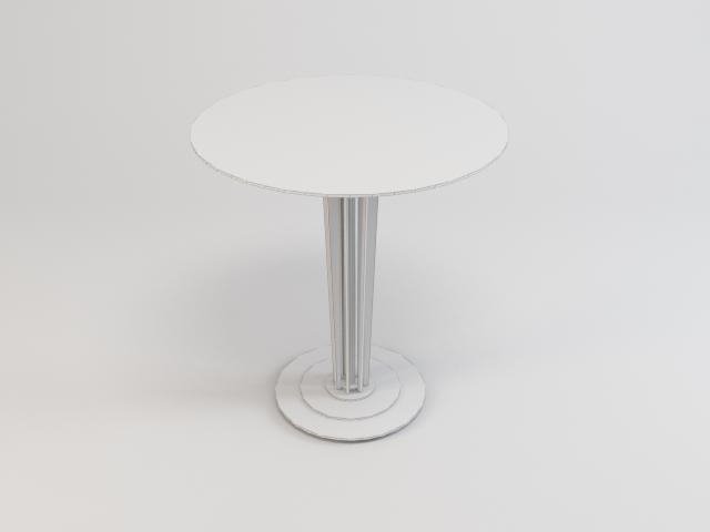 collection of glass tables 3d model 3ds max fbx obj 118453
