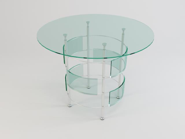 collection of glass tables 3d model 3ds max fbx obj 118454